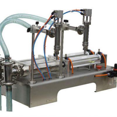 Ημιαυτόματη μηχανή πλήρωσης μελιού Υψηλή ακρίβεια πλήρωσης