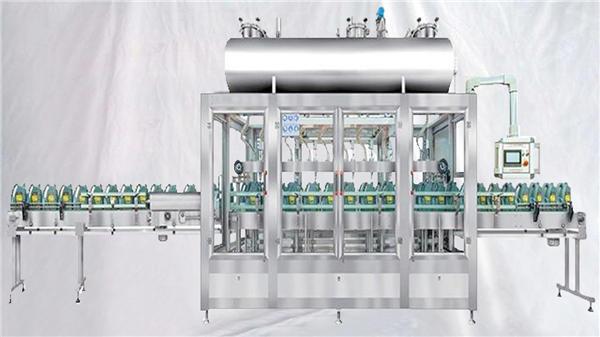 ζυγίζοντας περιστροφική μηχανή πλήρωσης για λάδια λιπαντικών