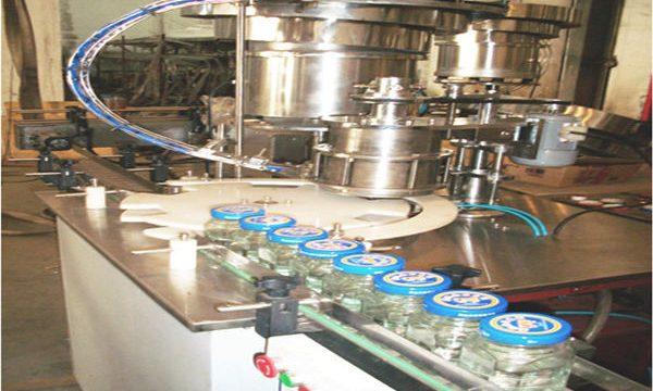 50-500ml γραμμή γεμίσματος μέλι, μηχανή εμφιάλωσης μελιού, μηχανή συσκευασίας μέλι Jar