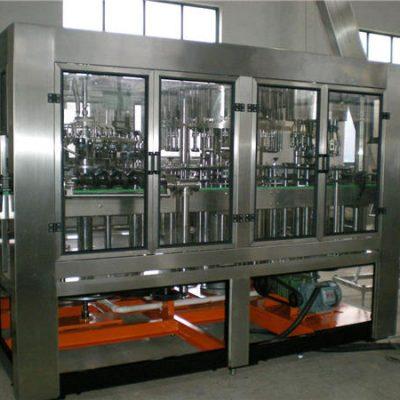 Αυτόματη μηχανή πλήρωσης νερού από γυάλινη φιάλη