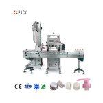 Πλήρης αυτόματη μηχανή κάλυψης μπουκαλιών γυαλιού για σαμπουάν