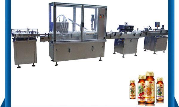 Κίνα Προμηθευτής Αυτόματη μπουκάλι υγρό πλήρωσης μπουκάλι