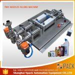 Ημι-αυτόματη αφαιρούμενη διαβρωτική υγρή πλήρωση μηχανή