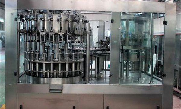 Αυτόματο μηχάνημα πλήρωσης υγρών από ανοξείδωτο χάλυβα για πετρέλαιο / καθαρισμένο νερό