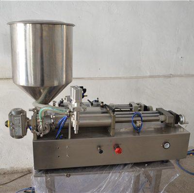 Ημιαυτόματο χειροκίνητο μηχάνημα πλήρωσης λαδιού Καλλυντικά