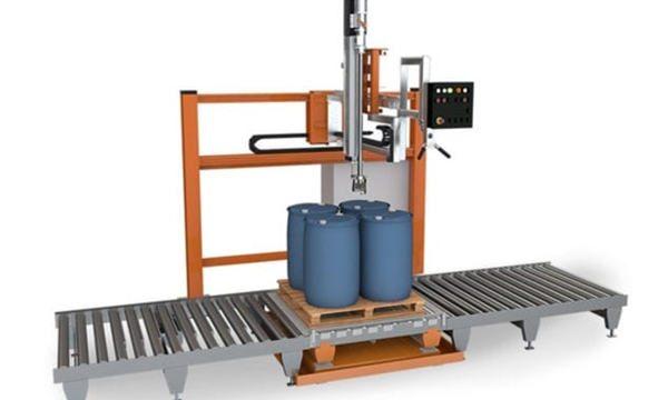 Μηχανή γεμίσματος υγρού με τύμπανο 200 λίτρων