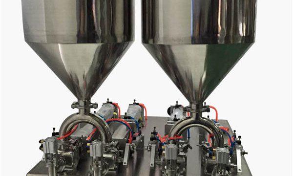 Ανθεκτική ημι-αυτόματη μηχανή πλήρωσης κρέμας