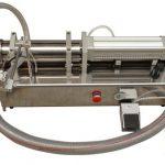Ημι-αυτόματο μηχάνημα πλήρωσης μελάνης με υψηλό ιξώδες υψηλού ιξώδους
