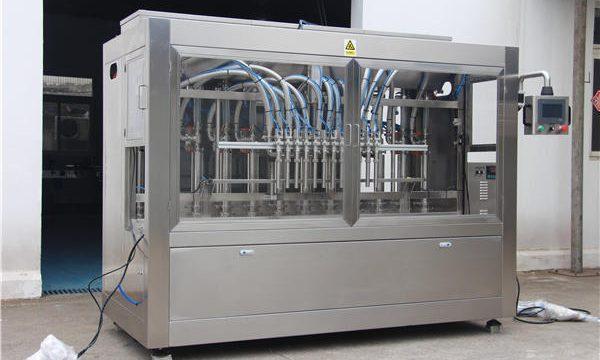 Πλήρως αυτόματη μηχανή πλήρωσης μελιού σε φιάλες