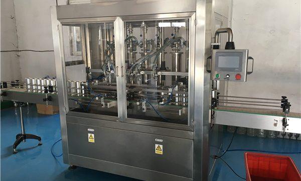 Γυάλινη μηχανή πλήρωσης σάλτσας μπουκαλιών