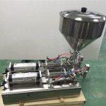 Χρησιμοποιείται ευρέως διπλό κεφάλι φράουλα μαρμελάδα γεμίσματος μηχάνημα