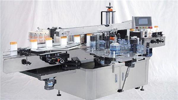 Γυαλί μπουκάλι ανώτατο επιφανειακό ετικέτα μηχάνημα