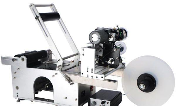Ημι-αυτόματη μηχανή σήμανσης στρογγυλών φιαλών