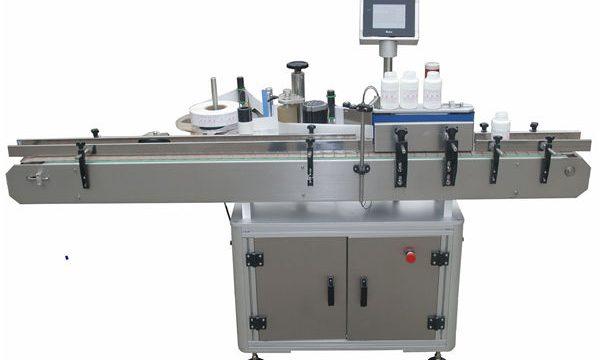 Αυτόματη διπλή πλευρά Llabeling μηχανή για PET πλαστικό γυάλινο μπουκάλι