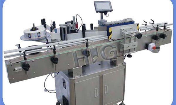 Αυτόματο μηχάνημα επισήμανσης τυπογραφικών φιαλών NPACK με τον εκτυπωτή