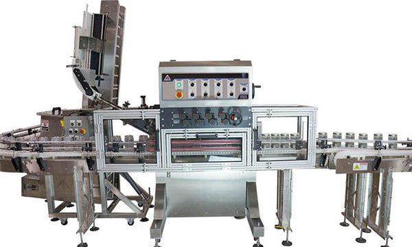 Αυτόματη μηχανή πλήρωσης σούπας με σούβλα με πνευματική αντλία