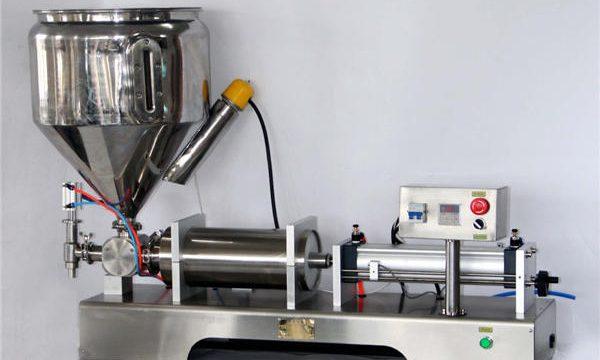 Χειροκίνητη μηχανή πλήρωσης σάλτσας για δοχεία