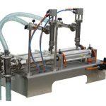 Ημιαυτόματη μηχανή πλήρωσης σαπουνιού με υγρό σαπούνι