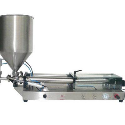 Ημι-αυτόματο μηχάνημα πλήρωσης κέτσαπ