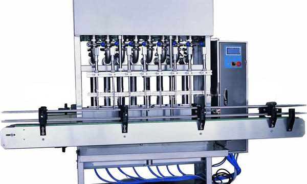 Ανοξείδωτο χάλυβα υγρό σαπούνι πλήρωσης μηχάνημα