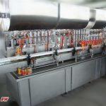 Διπλής κεφαλής πλήρης αυτόματη πλήρωση χυμού τσίλι μηχανή
