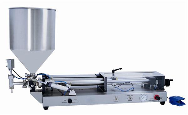 Ημι-αυτόματη μηχανή πλήρωσης για 3mL-5L