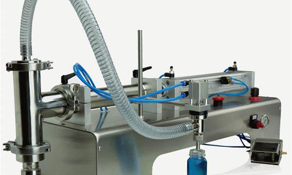 Υψηλής ποιότητας ημι-αυτόματη πληρώσεως εμβολοφόρο μηχάνημα Νέο σχέδιο