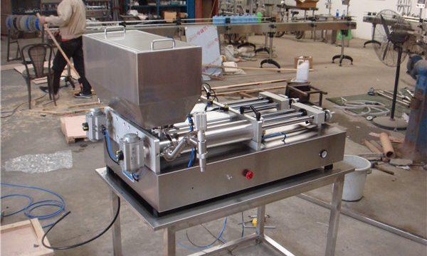 Χονδρική ημιαυτόματη μηχανή πλήρωσης σάλτσας