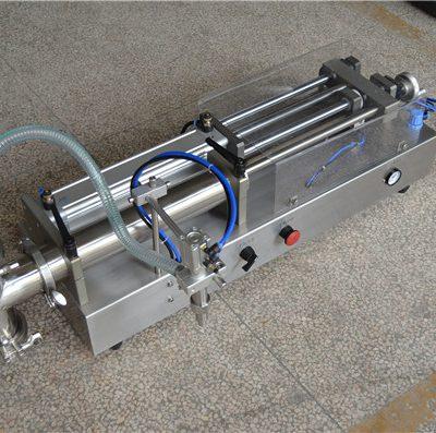 ημι αυτόματο κατασκευαστή μηχανή πληρώσεως σαμπουάν